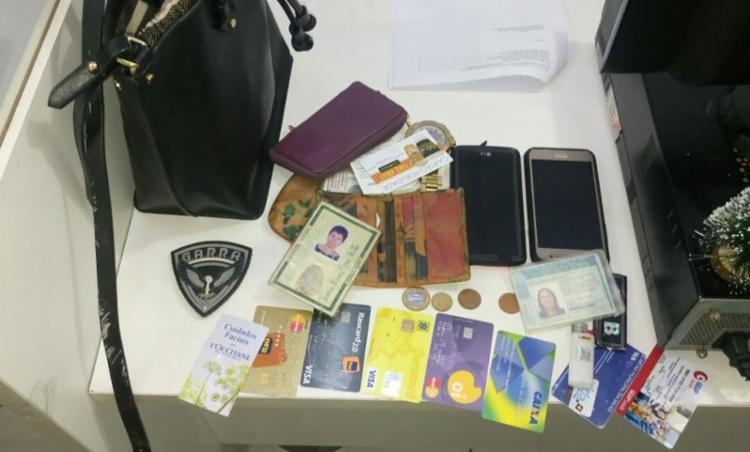 Material foi encontrado com suspeito de assalto - Foto: Divulgação | SSP