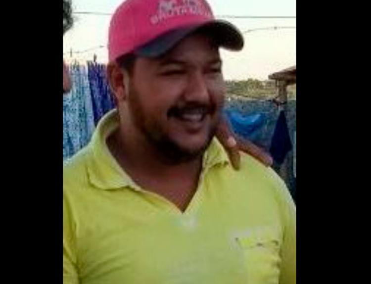 Marcelo Souza morava em Santo Estevão há cerca de um mês - Foto: Reprodução