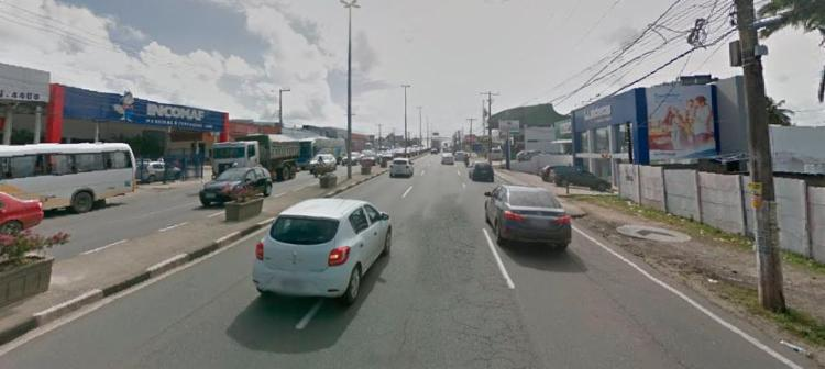 A intervenção vai ser entre as 22h desta quarta e 5h de quinta - Foto: Reprodução | Google Street View