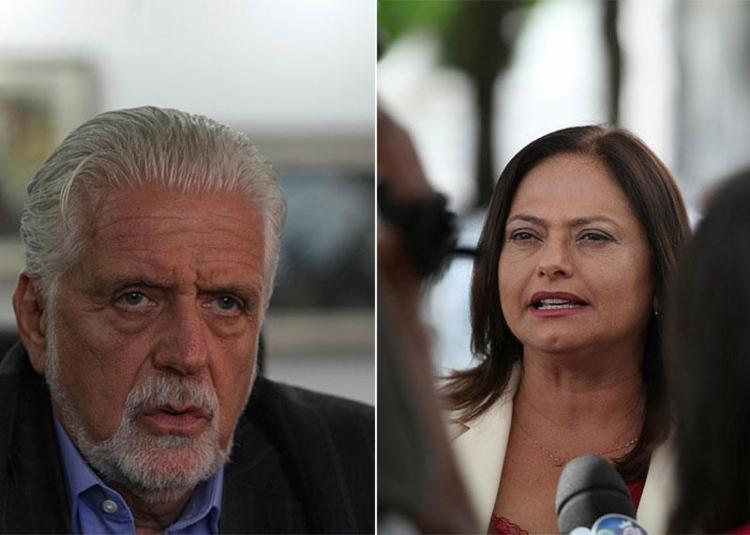 Nos dois cenários levantados pela pesquisa, Jaques Wagner (PT) e Alice Portugal (PCdoB) seriam eleitos - Foto: Lúcio Távora e Raul Spinassé | Ag. A TARDE