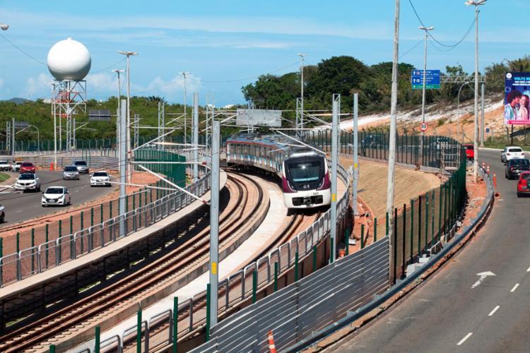 Com a Estação Aeroporto, sistema metroviário alcança os 33 quilômetros de extensão - Foto: Carol Garcia | Secom