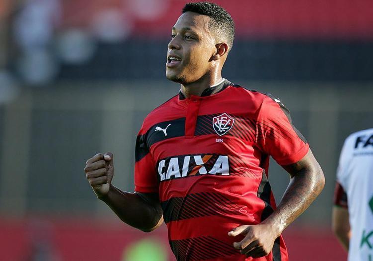 Este ano, David disputou 63 jogos pelo Vitória e marcou 11 gols, seis deles no Brasileirão - Foto: Raul Spinassé l Ag. A TARDE