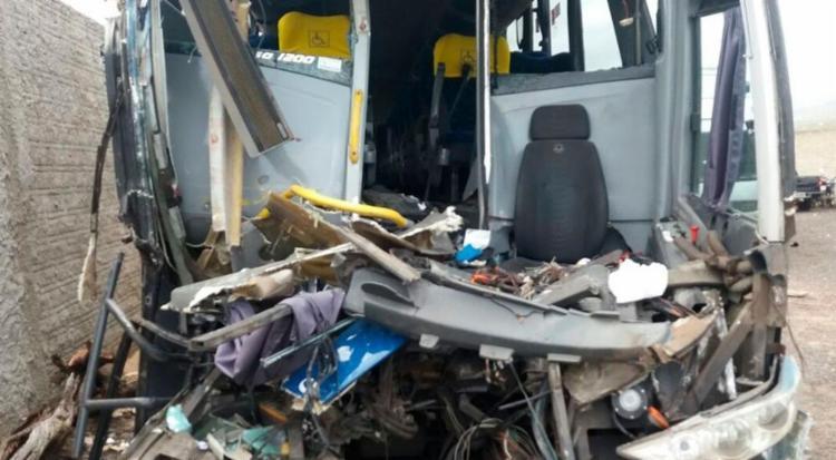 Nove pessoas ficaram feridas no acidente - Foto: Divulgação | PRF
