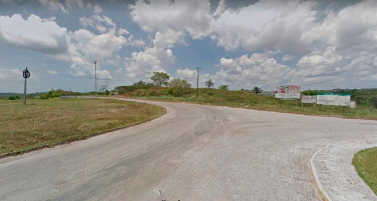 Carro foi localizado na região do Centro Industrial de Aratu (CIA) - Foto: Reprodução | Google Street View