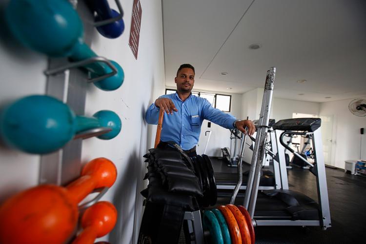 Lima relata que no Aquárius o espaço é mais usado por idosos e jovens - Foto: Joá Souza l Ag. A TARDE