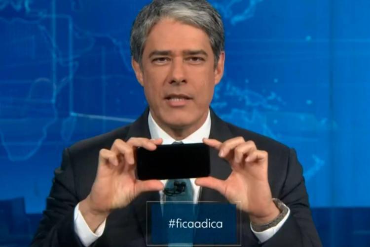 O assunto viralizou nas redes sociais e o apresentador virou alvo de memes e piadas - Foto: Divulgação | TV Globo