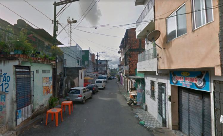 O crime aconteceu na rua Alto do Formoso, em Cosme de Farias - Foto: Reprodução | Google Maps
