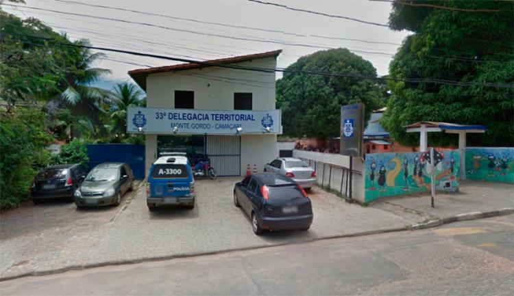 O caso foi registrado na Delegacia Territorial de Monte Gordo, em Camaçari - Foto: Reprodução | Google Maps