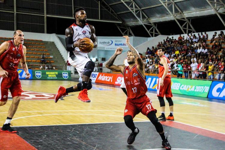 Equipe Rubro-Negra não teve dificuldades para vencer o adversário - Foto: Maurícia da Matta | EC Vitória