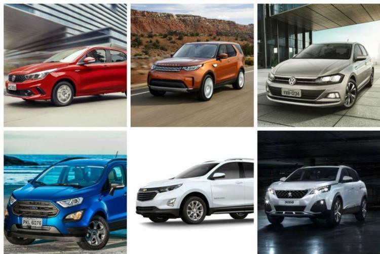 SUVs dominam, mas hatches voltaram a ter protagonismo no ano em que a indústria mais precisava de lançamentos de volume - Foto: Divulgação