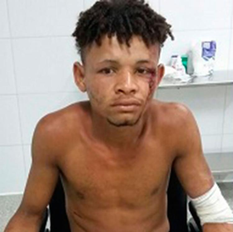 Natanael foi encaminhado ao Hospital Regional Costa do Cacau, em Ilhéus - Foto: Reprodução | Giro em Ipiaú