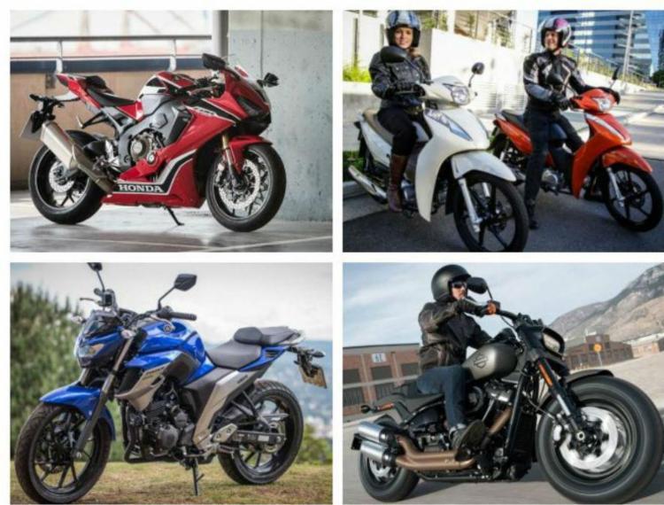 Em um ano com poucas novidades no segmento de entrada, brilharam as motos vintage e alta cilindrada - Foto: Divulgação