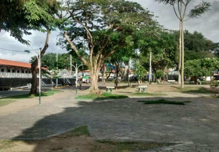 O melhor ponto para observar os fogos de artifício será na Praça do Bosque - Foto: Divulgação