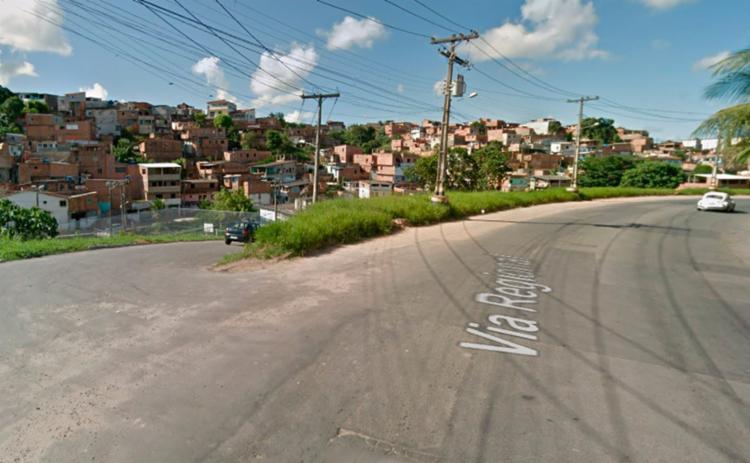 Acidente ocorreu na ladeira que também dá acesso a Cajazeiras 8 - Foto: Reprodução | Google Maps