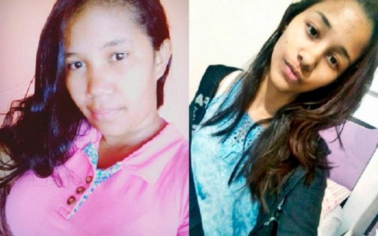 Gilmara Souza Silva e a sobrinha Letícia Silva Santos não resistiram aos ferimentos - Foto: Reprodução | Blog Liberdade News
