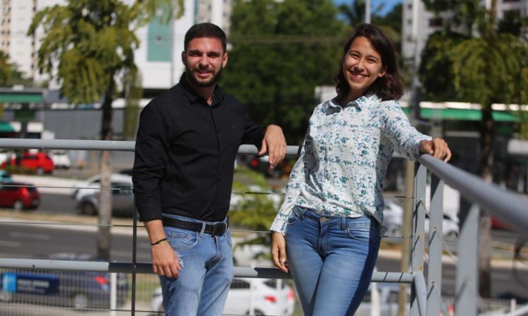 Alanna e Gaspar destacam a importância das pequenas e médias empresas - Foto: Joá Souza | Ag. A TARDE