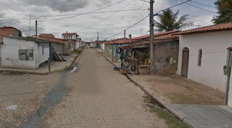 Acidente aconteceu na Rua Salmo 25, bairro Feira VII - Foto: Reprodução | Google Maps