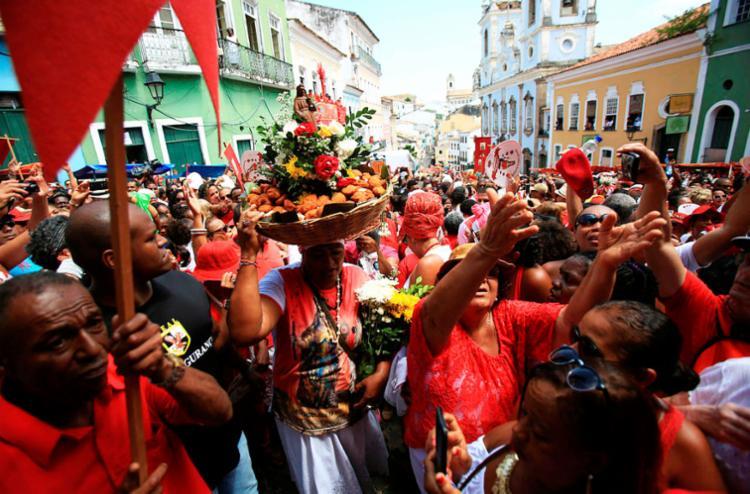 Festa de Santa Bárbara acontece nesta segunda-feira, 4 - Foto: Joá Souza | Ag. A TARDE | 04,12,2015