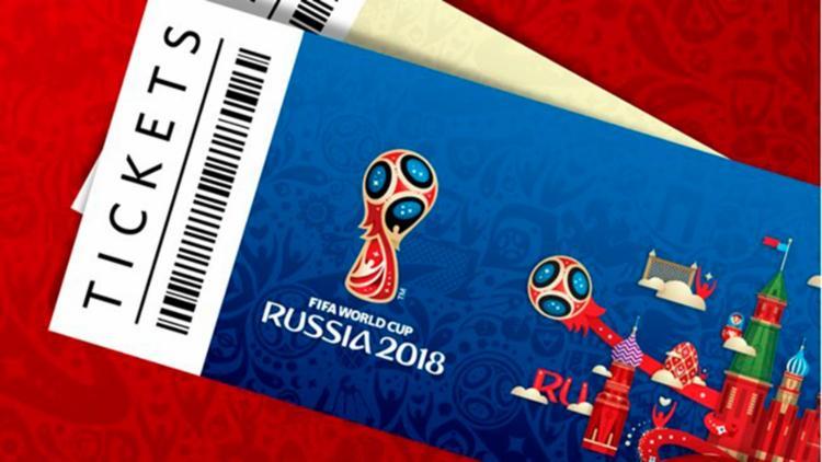 Os interessados na compra se inscrevem para concorrer ao sorteio das entradas - Foto: Reprodução | FIFA