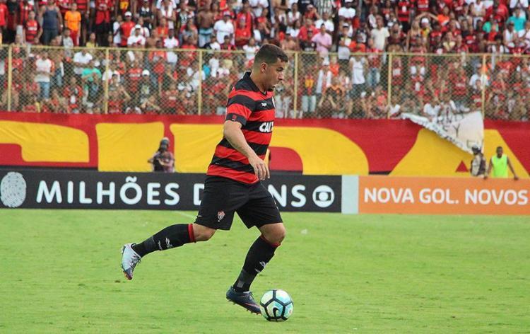 Artilheiro do clube na temporada, André Lima se despediu pelas redes sociais - Foto: Maurícia da Matta l EC Vitória