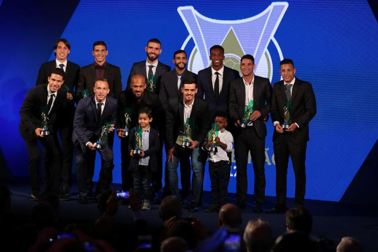 A seleção do Brasileirão 2017 - Foto: Lucas Figueiredo | CBF