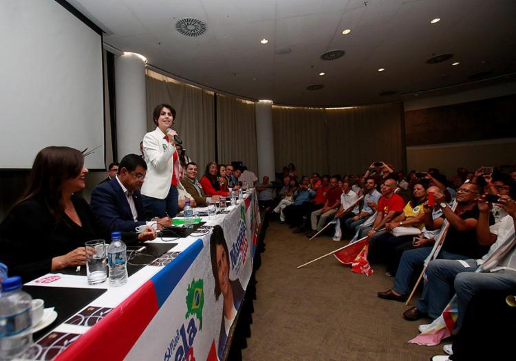 Comunista não descarta que a sua candidatura possa aglutinar partidos de centro-esquerda - Foto: Adilton Venegeroles l Ag. A TARDE