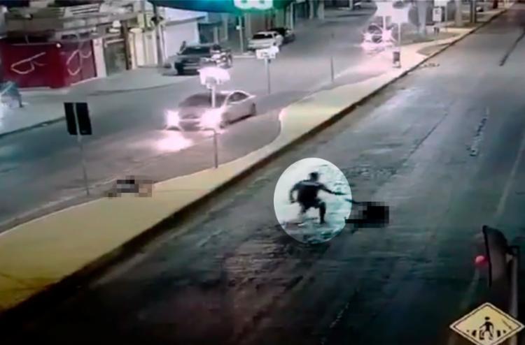 O mesmo atirador atacou as duas vítimas com um intervalo de poucos minutos - Foto: Reprodução   YouTube