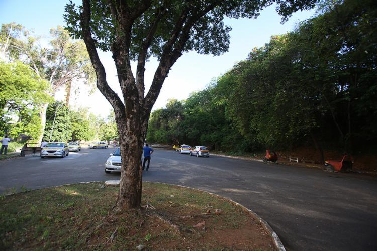 O local era utilizado por autoescolas para realização de testes de condutores - Foto: Joá Souza l Ag. A TARDE