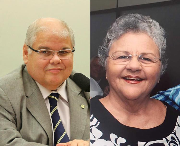 Lúcio (esquerda) e a mãe, Marluce, foram investigados após a apreensão de R$ 51 mi em espécie dentro de apartamento em Salvador - Foto: Fabioodrigues Pozzebom l ABr l 15.08.2017 e Ascom l Divulgação l 14.01.2016