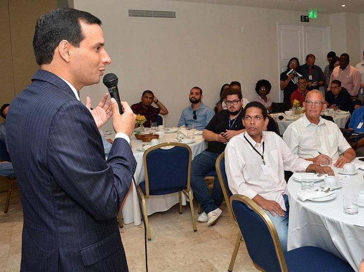 Prates destacou a realização de 100 sessões ordinárias - Foto: Reginaldo Ipê l Câmara Municipal