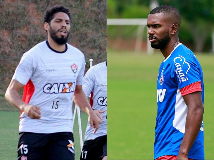 Wallace permanece no Leão para 2018; Luiz Antônio deve retornar ao Tricolor - Foto: Mauricia da Matta l EC Vitória e Felipe Oliveira l EC Bahia