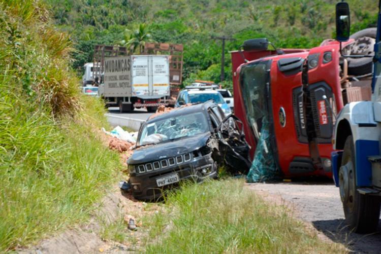 Mariana Araújo teria perdido o controle do veículo - Foto: Reprodução | Mais Região