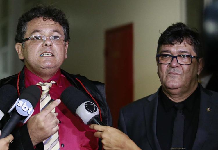 Anulação do julgamento foi solicitada pelos promotores de Justiça Luciano Assis e David Gallo - Foto: Adilton Venegeroles l Ag. A TARDE