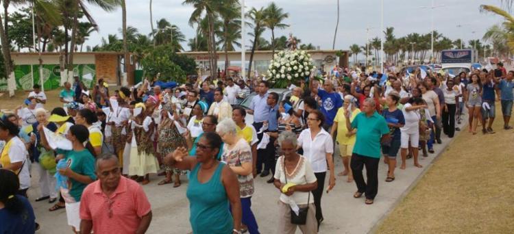 A celebração é a mais antiga festa religiosa do Brasil, comemorada desde 1550 - Foto: Adilton Venegeroles | Ag. A TARDE