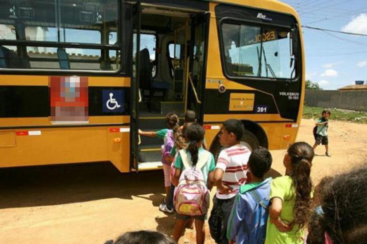 Municípios do sul da Bahia terão que regularizar o serviço de transporte escolar - Foto: Joá Souza | Ag. A TARDE