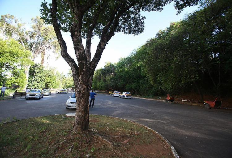 Segundo a Prefeitura, o local era ocupado de forma irregular por autoescolas - Foto: Joá Souza l Ag. A TARDE