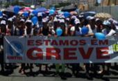 Funcionários de call center protestam contra redução salarial | Foto: Reprodução | Whatsapp