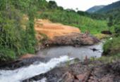 Crime ambiental ameaça margem de rio em Jequé | Foto: Dimas de Campos l Divulgação l 25.10.2013