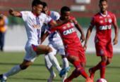 Bahia perde para o xará de Feira no Baianão | Foto: