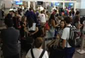 Aeroporto de Salvador fica sem energia por mais de 2h após pane elétrica | Foto: Raul Spinassé | Ag. A TARDE | 22.01.2018