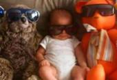 Sheron Menezzes posta foto do filho e causa
