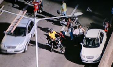 Trânsito está congestionado sentido Salvador - Foto: Reprodução | TV Record