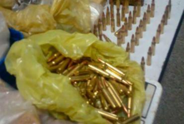 Mais de 100 munições de fuzil são achadas enterradas em Cajazeiras