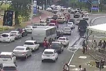 Lavagem do Bonfim deixa trânsito lento em Salvador | Divulgação | Transalvador