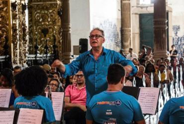 Orquestras ao ar livre nos sábados de verão agitam o Pelourinho