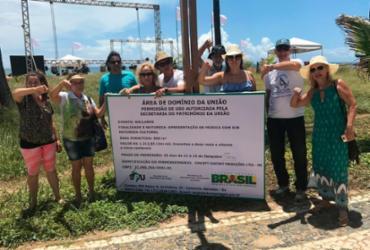 Moradores de Vilas do Atlântico protestam contra festa no local