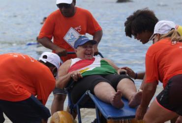 ParaPraia garante banho de mar inclusivo em Ondina