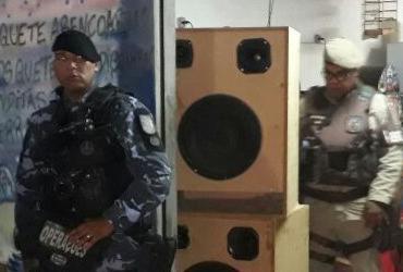 Operação de combate à poluição sonora apreende equipamentos no Subúrbio