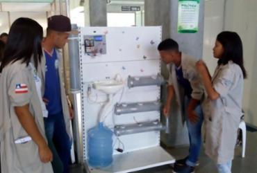 Estudantes desenvolvem sistema de irrigação automática inteligente