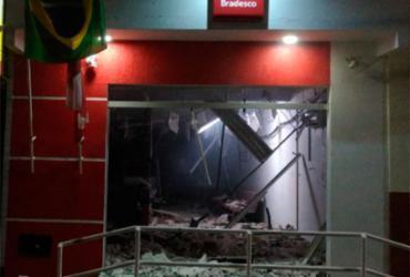 Criminosos explodem agência bancária em Boa Vista do Tupim | Reprodução | Itaberaba Notícias